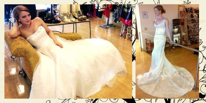 wedding dresses and decor from goodwill goodwill easter Goodwill Wedding Dresses