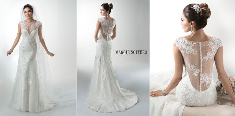 wedding gown trend 6 dramatic backs maggie sottero Wedding Dresses With Dramatic Backs