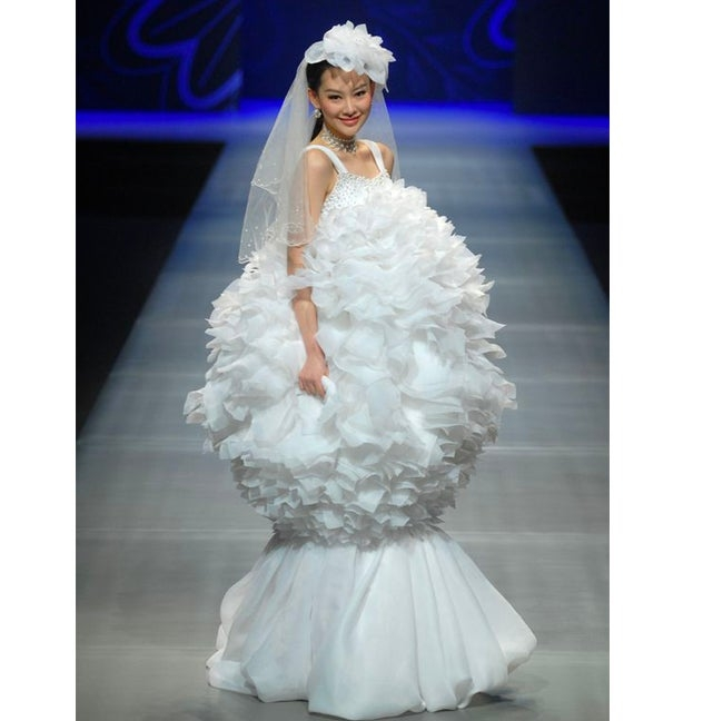 weirdest wedding dresses of all time ego Weirdest Wedding Dresses