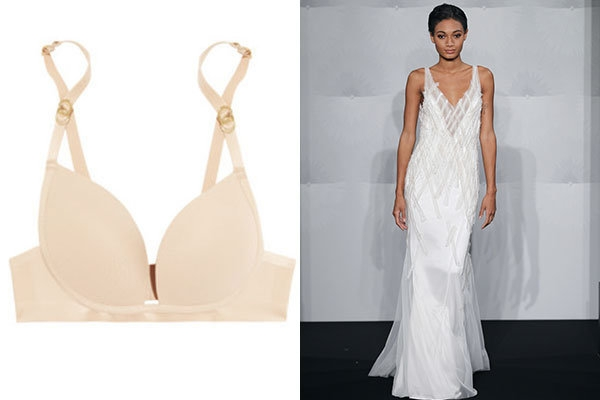 what to wear under your gown bridalguide Corset Bras For Wedding Dresses