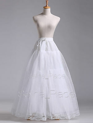 white a line hoopless wedding dress bridal gown crinoline petticoat skirt slip ebay Crinoline Skirt For Wedding Dress