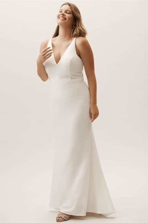 11 perfect wedding dresses for a second trip down the aisle Second Wedding Dresses For Older Brides