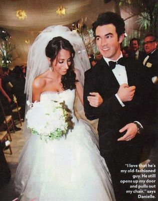 25 most expensive celebrity weddings of all time Danielle Jonas Wedding Dress