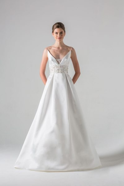 a line wedding dress Anne Barge Wedding Dresses