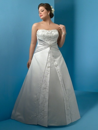 alfred angelo plus size wedding gown equally wed modern Alfred Angelo Plus Size Wedding Dresses