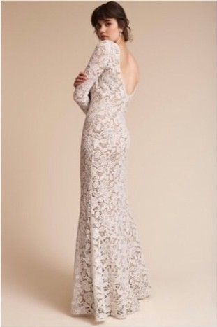bhldn tadashi shoji size 6 Bhldn Used Wedding Dress