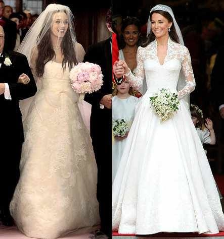 blair waldorf and kate middletons wedding dress kate Blair Waldorf Wedding Dress