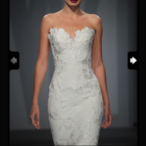 brand new never worn mark zunino wedding gown nwt Mark Zunino Wedding Dresses