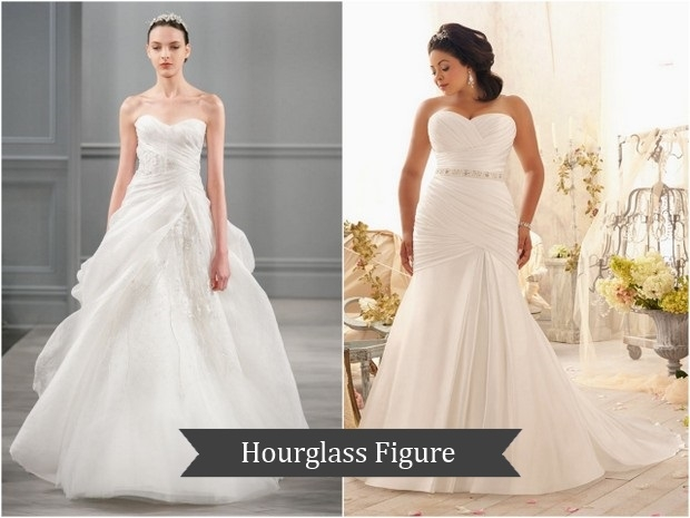 bridal fashion 101 the perfect wedding dress for your body Wedding Dresses For Hourglass Figures