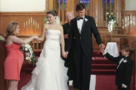 brooke davis one tree hill celebrity wedding dresses Brooke Davis Wedding Dress