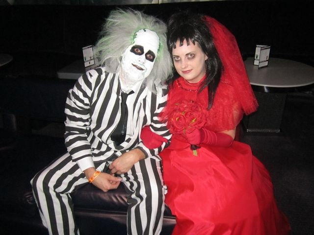 child size beetlejuice red wedding gown costume lydia deetz tim burton custom sold faeryspell creations Beetlejuice Wedding Dress