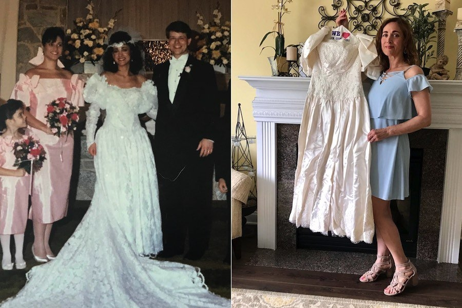 christine besso is frantically searching for her missing Preserved Wedding Dress