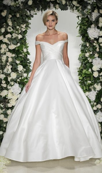 classic ball gown wedding dress Anne Barge Wedding Dresses