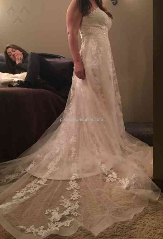 dhgate wedding dress feb 03 2017 pissed consumer Dhgate.Com Wedding Dress Reviews
