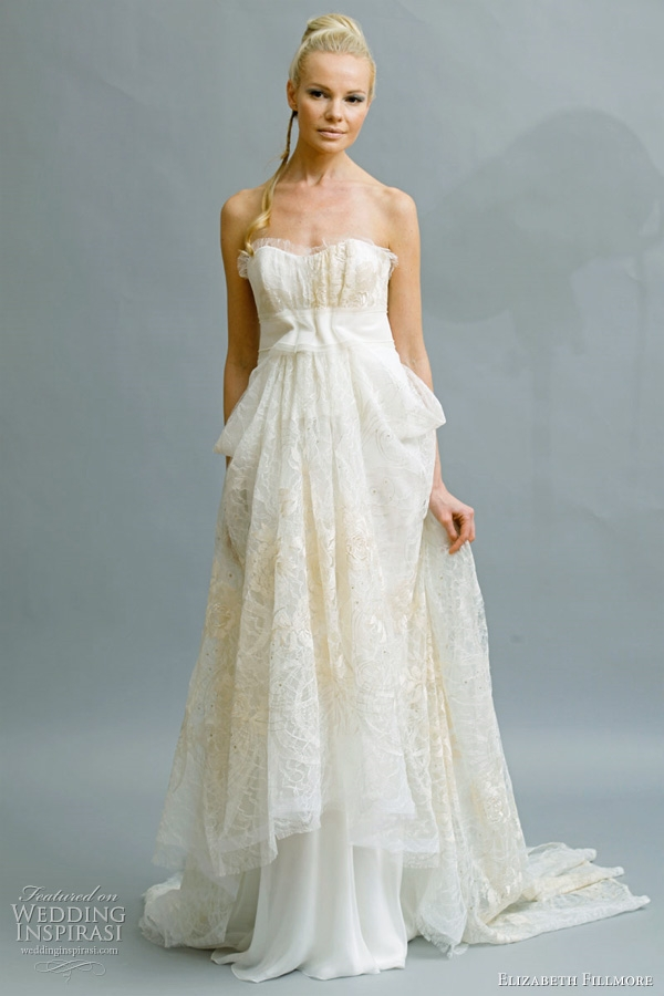 elizabeth fillmore bridal 2011 wedding dresses wedding Elizabeth Fillmore Wedding Dress