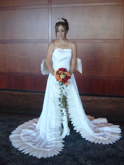 final fantasy x yuna in her wedding dress i want this dress Yuna Wedding Dress