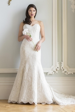 fit and flare wedding dress Augusta Jones Wedding Dresses