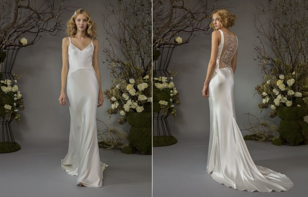 from the runway elizabeth fillmore fall 2014 bridal Elizabeth Fillmore Wedding Dress