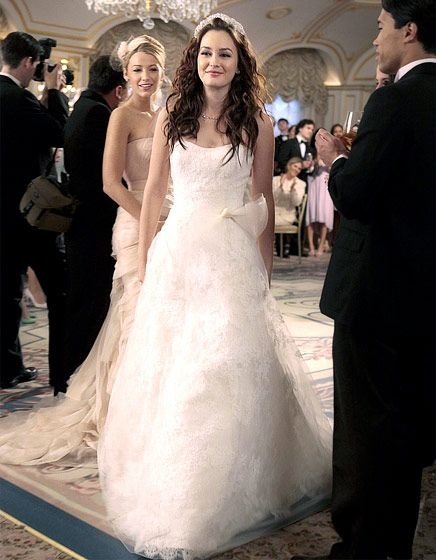 gossip girl 6 seasons of style gossip girl wedding Blair Waldorf Wedding Dress