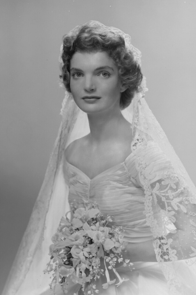 jacqueline bouvier kennedy bridal portrait of jacqueline l Jacqueline Bouvier Wedding Dress