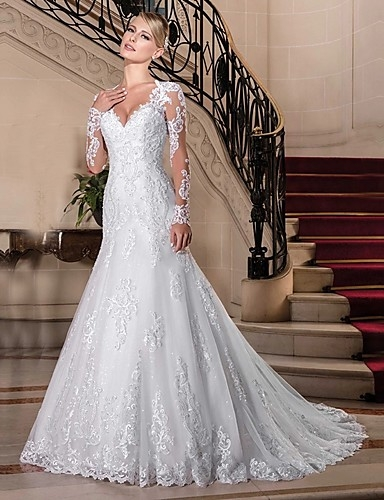 long sleeve wedding dresses search lightinthebox Lightinthebox.Com Wedding Dresses