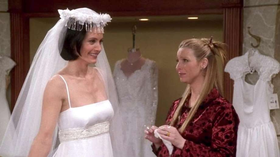 market street to host friends themed events on oct 17 Monica Geller Wedding Dress