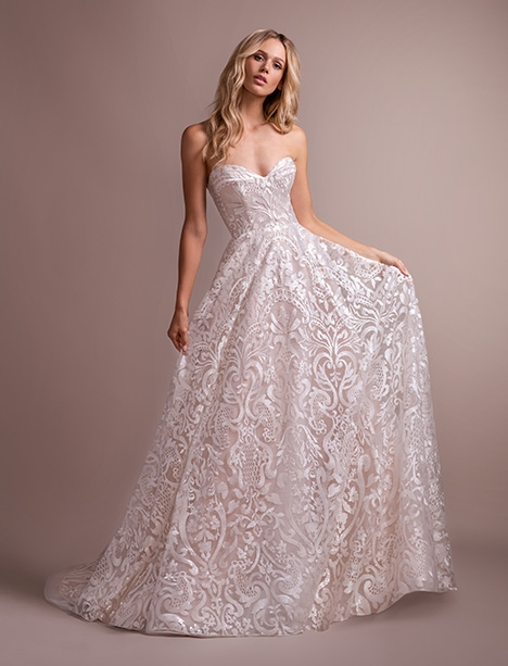 marsden 6900 wedding dress hayley paige the Hailey Paige Wedding Dresses