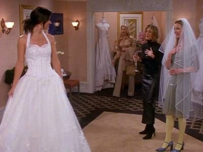 monica geller cheap wedding dress episode wedding dress Monica Geller Wedding Dress