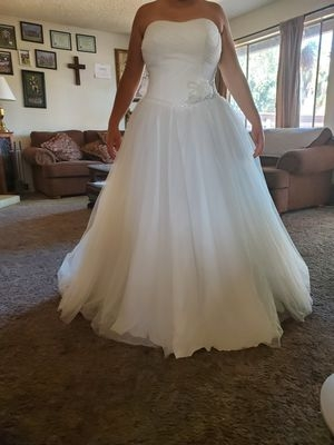 new and used wedding dress for sale in manteca ca offerup Wedding Dresses Modesto Ca