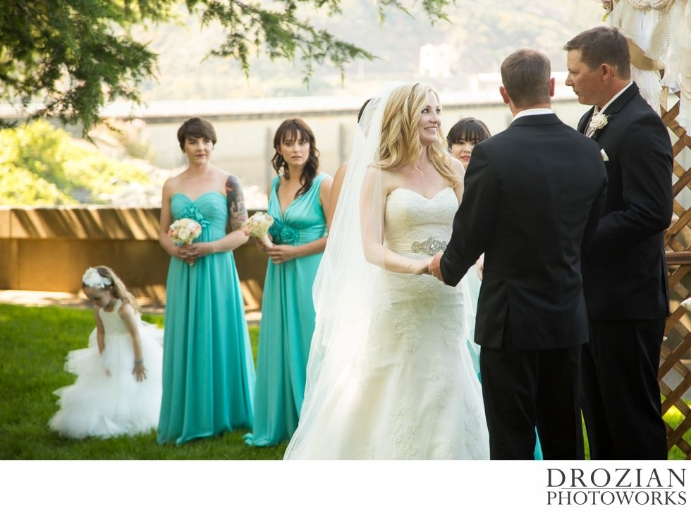romantic outdoor wedding at shasta dam in redding ca Wedding Dresses Redding Ca