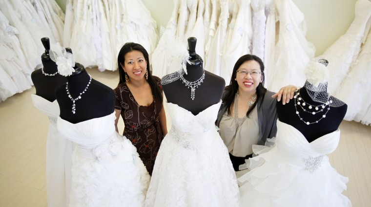 sisters carry on legacy of bridal elegance shop business Wedding Dresses In Richmond Va