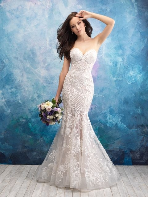 style 9560 available at bridal gallery in grand rapids mi Wedding Dresses Grand Rapids Mi