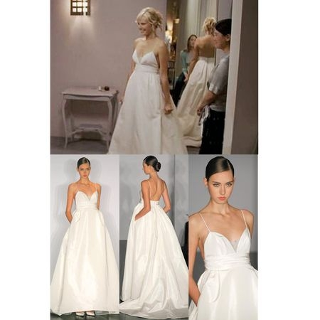 the nightmare sister to katherine heigl in wedding rom com Katherine Heigl 27 Dresses Wedding Dress