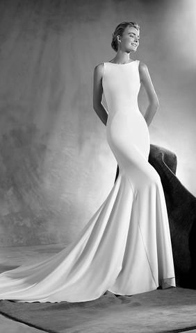 try this beautiful wedding dress from atelier pronovias Wedding Dresses Des Moines