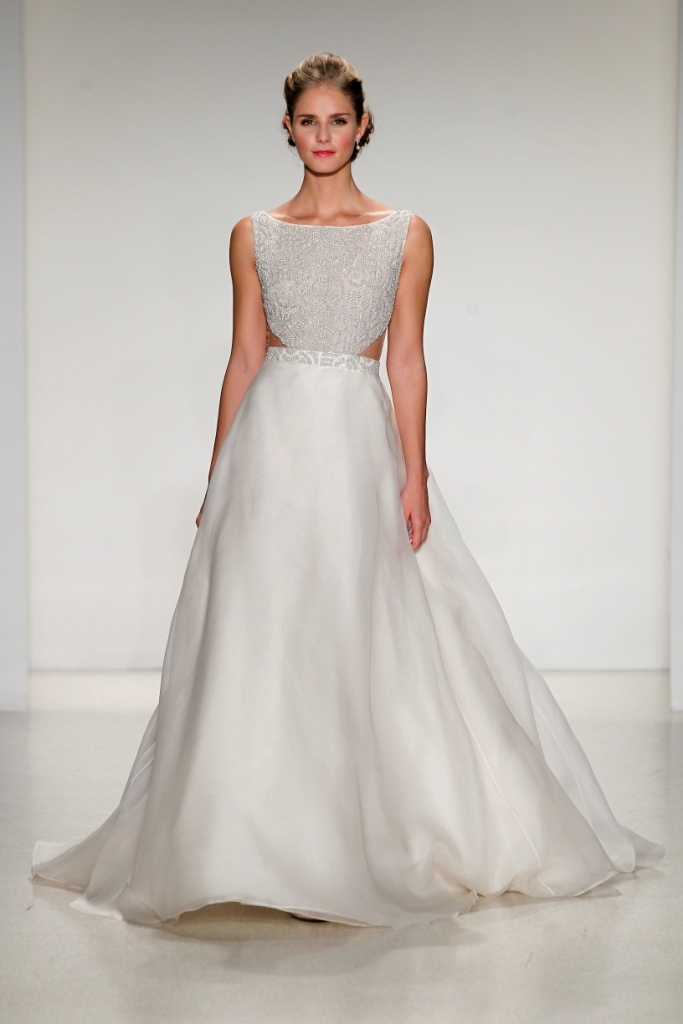 wedding dress of the day greer anne barge Anne Barge Wedding Dresses