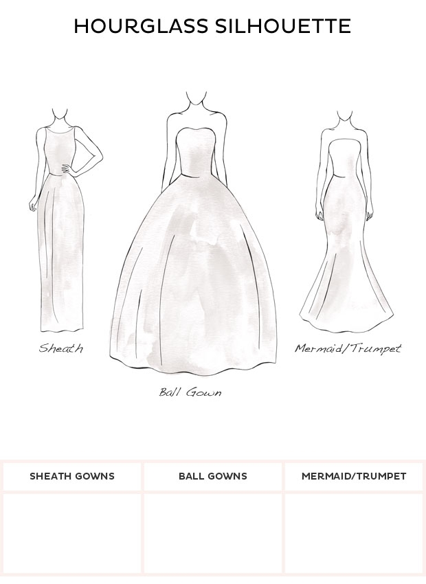 wedding dress style hourglass style wedding dresses from Wedding Dresses For Hourglass Figures