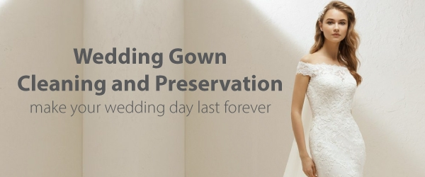 wedding gown cleaning preservation louies tux shop Wedding Dress Cleaning And Preservation Pretty