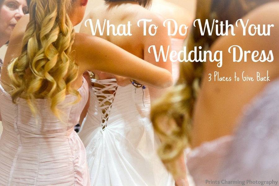 what to do with your wedding dress 3 charities to donate Donated Wedding Dresses