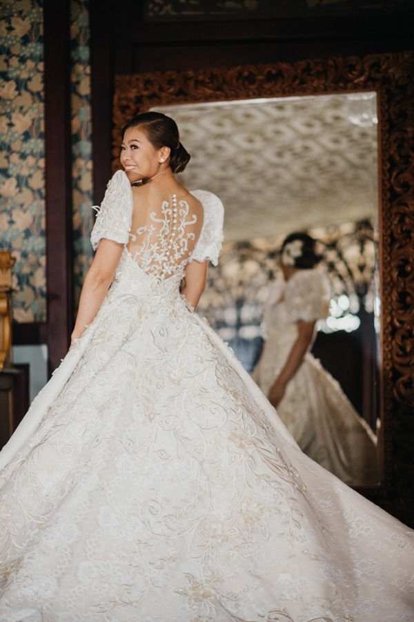 you will fall in love with this regal filipiniana wedding in Filipiniana Wedding Dress