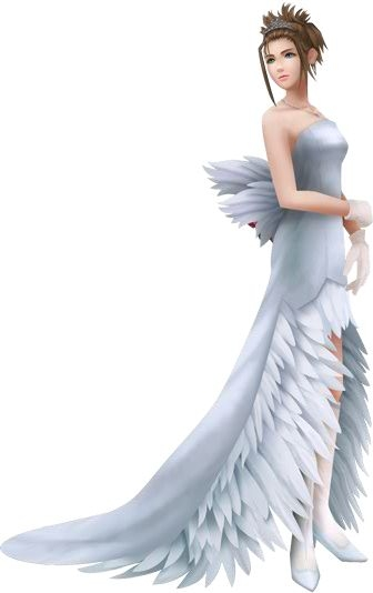 yuna in wedding dress in ffx final fantasy art yuna final Yuna Wedding Dress