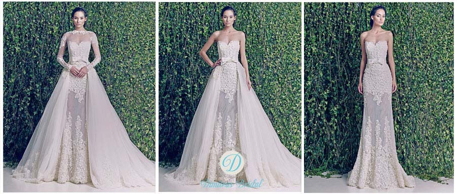 zuhair murad wedding dresses debut in chicago dimitras Zuhair Murad Wedding Dresses s