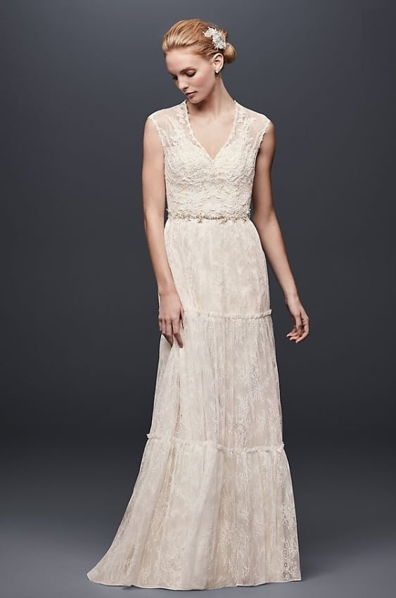 11 perfect wedding dresses for a second trip down the aisle Dresses For Second Wedding Informal
