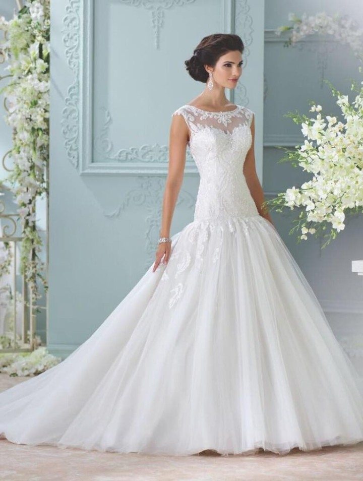 2016 david tutera for mon cheri wedding dresses modwedding David Tutera Wedding Dress s