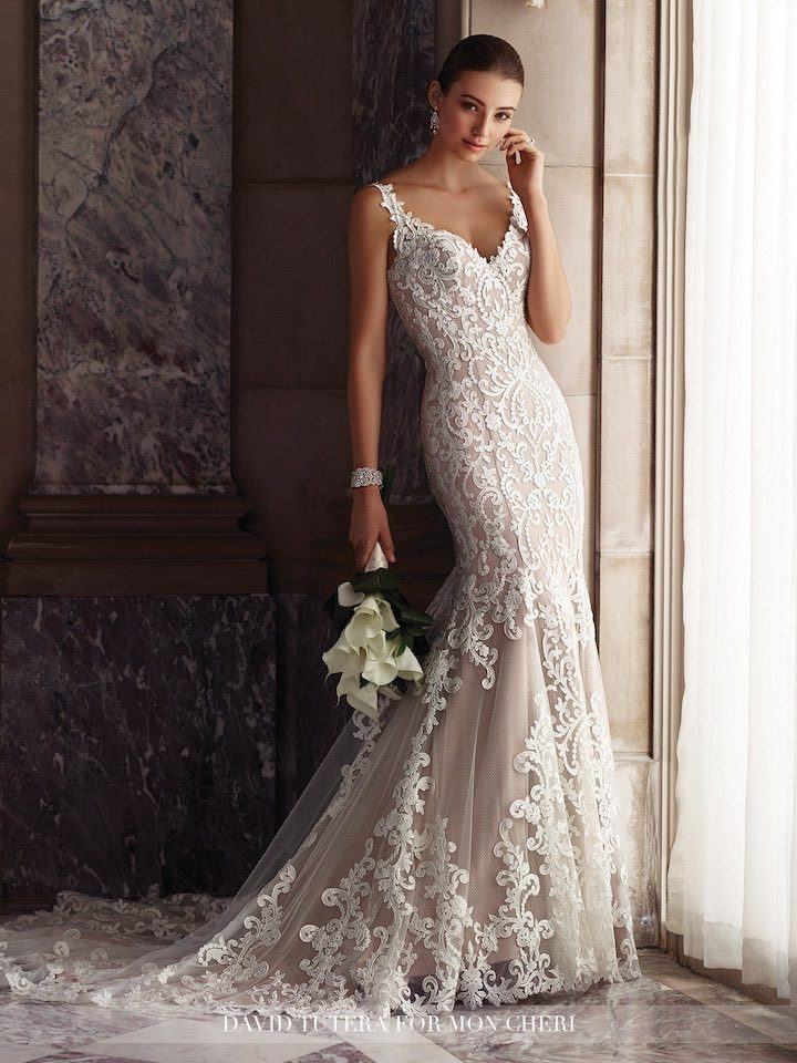 2017 david tutera for mon cheri wedding dresses modwedding David Tutera Wedding Dress s