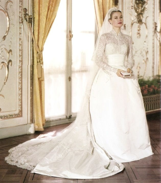 30 gorgeous lace sleeve wedding dresses expensive wedding Grace Kellys Wedding Dress