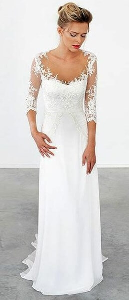 60 best casual wedding dresses for second marriages 2020 Dresses For Second Wedding Informal