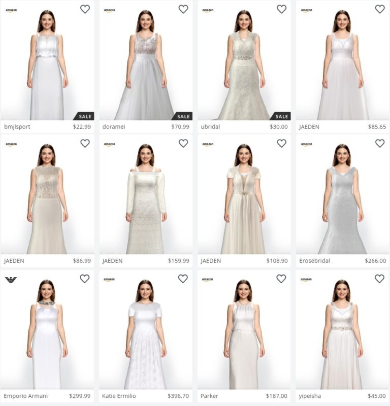 a new app will allow you to virtually try on wedding dresses Virtual Wedding Dress Maker