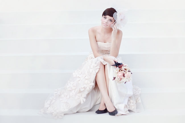 audrey hepburn inspired bridal style Audrey Hepburn Inspired Wedding Dresses