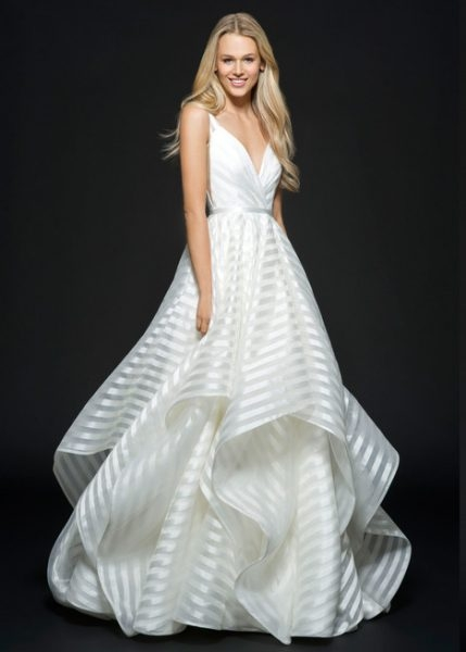 ball gown wedding dress Hayley Paige Wedding Dress