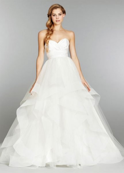 ball gown wedding dress Hayley Paige Wedding Dresses